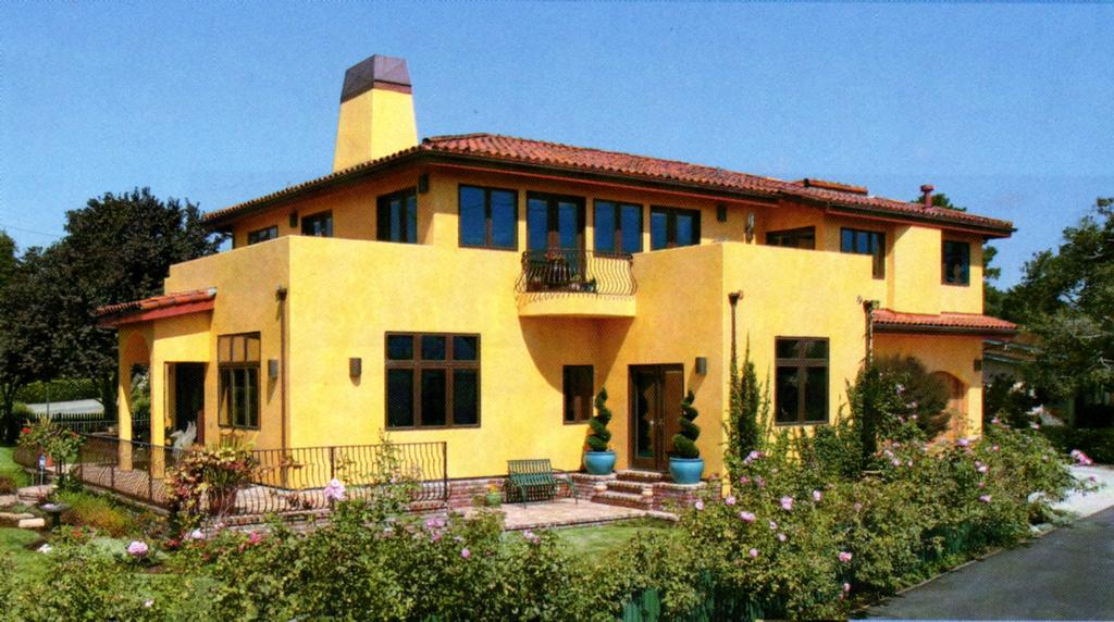 stucco colors which one to choose - Exterior Stucco House Color Ideas