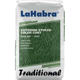 Traditional Stucco Finish