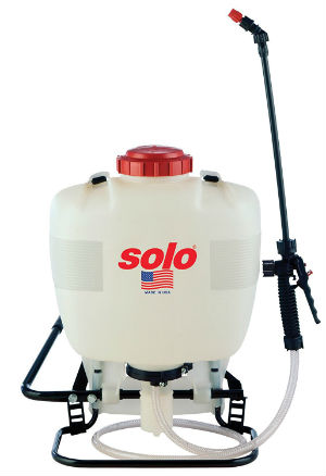 A Backpack Fog Coat Sprayer
