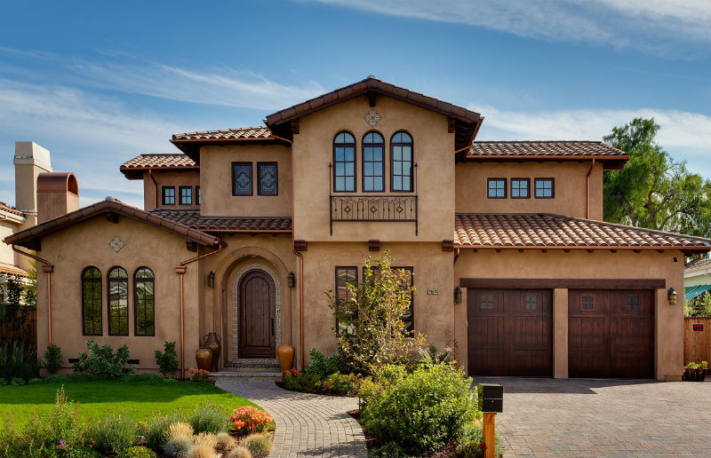 How to get that spanish stucco look for Modern spanish style homes