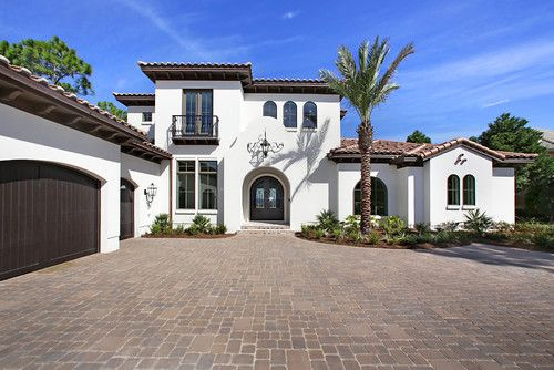 12 mediterranean style stucco house examples - Exterior paint color ideas for stucco house ...