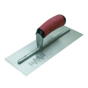 Another Notched Trowel Example