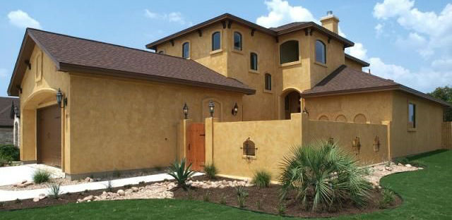 12 Quot Mediterranean Style Quot Stucco House Examples