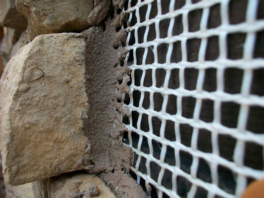 Fiberglass Wire Mesh For Stucco
