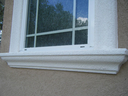 Medium Stucco Finish