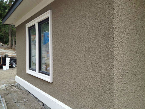 Rough Stucco Finish
