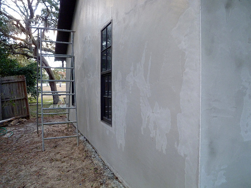 Smooth Stucco Wall