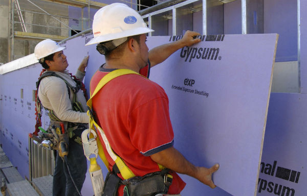 Gypsum Sheathing
