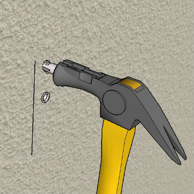 Install Wall Anchors Into Stucco Wall