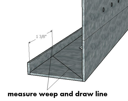 Measure Weep To Cut
