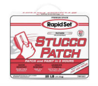 Rapid Set Stucco Patch