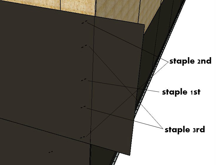 Starting The Paper On An Outside Corner