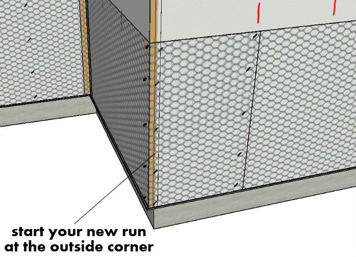 Start Your New Run At Outside Corner