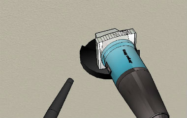 Using A Vacuum For Stucco Cutting Dust
