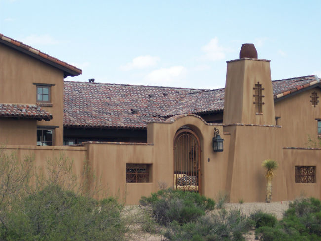 Another Smooth Stucco Example
