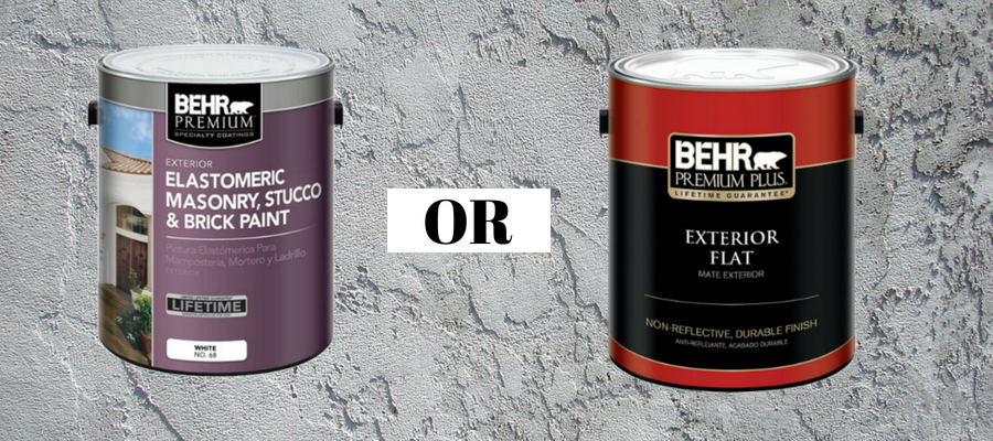 What Kind Of Paint Do I Use On Exterior Stucco