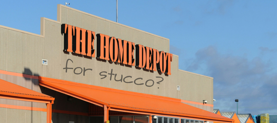 What Materials Can I buy For Stucco At Home Depot