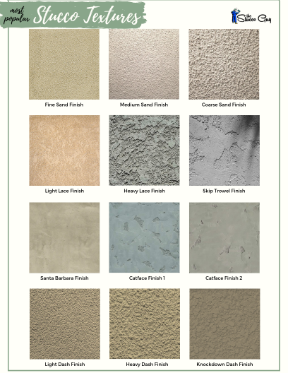 Popular Stucco Textures Side