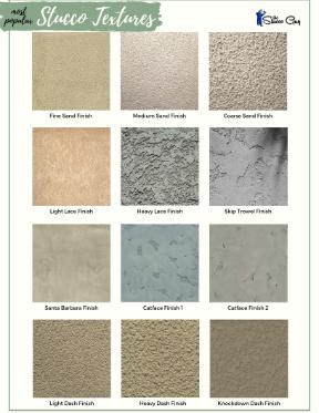 Popular Stucco Textures Side