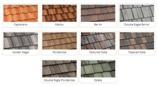 Tile Roof Profile Examples