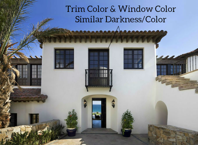 Trim And Windows Same Color
