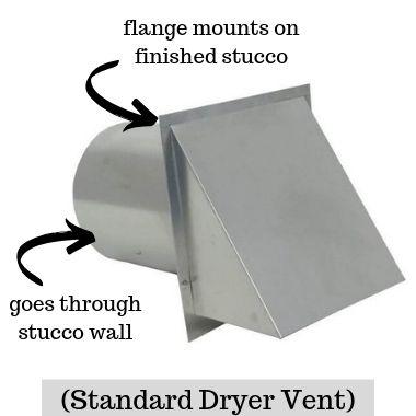 Standard Dryer Vent