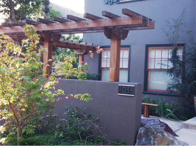 A Clean Look With A Pergola