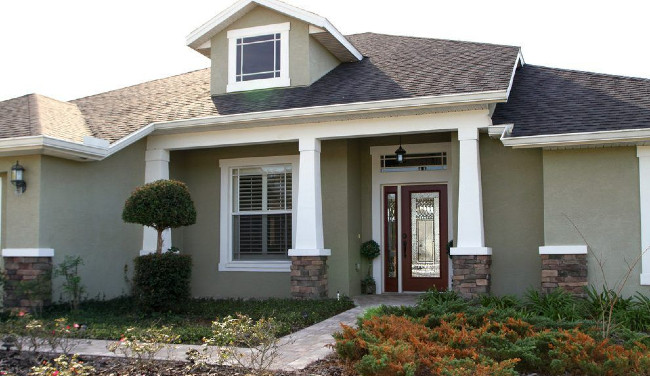 A More Modern Craftsman Style Home