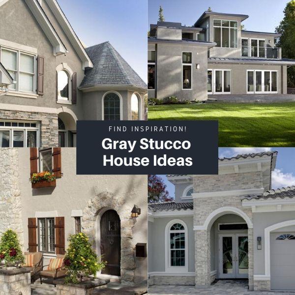 Gray Stucco House Ideas And Inspiration