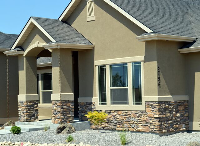 Sage Green Example With Nice Rock Work