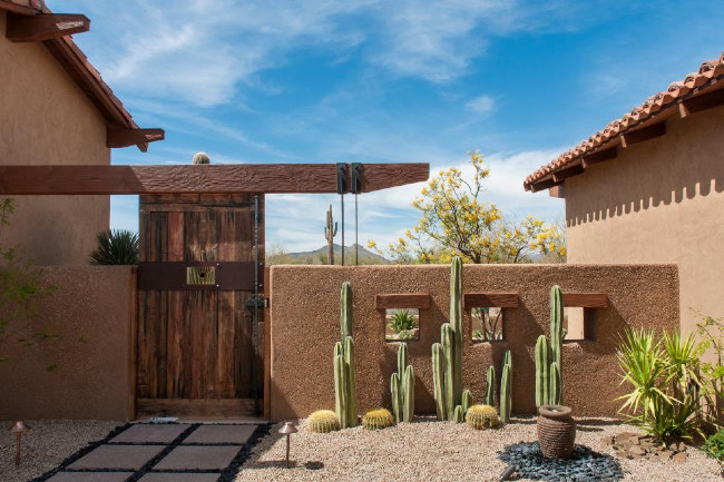 Southwest Style Fence