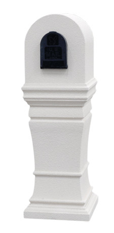 A Nice Mailbox With A Rounded Top