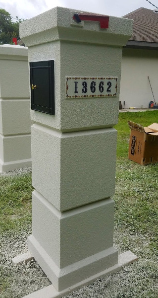 A Simple Yet Sophisticated Mailbox Design