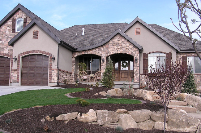 Brick, Stone And Stucco Color Combo