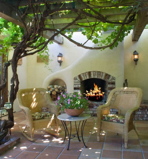Not Just Another Outdoor Fireplace
