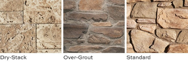 Stone Grout Styles