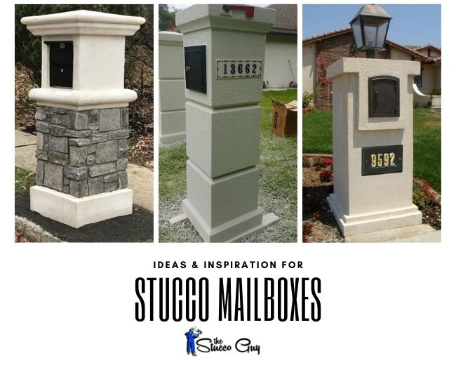 Stucco Mailbox Ideas And Inspiration