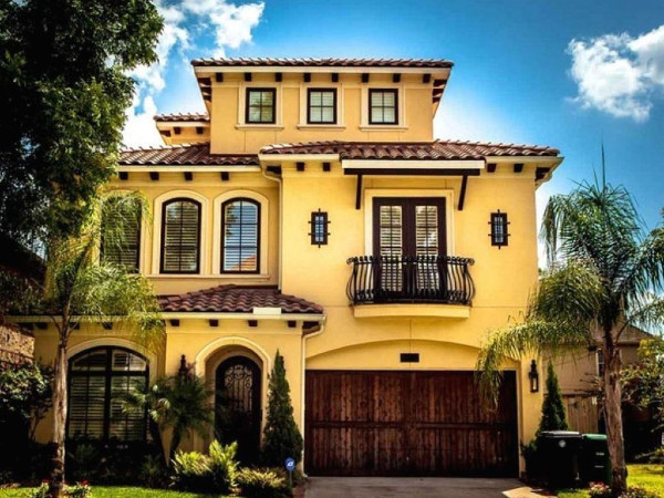 A Beautiful Yellow Color With A Majestic Mediterranean Feel