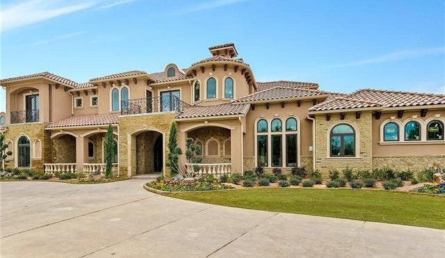An Elegant Mediterranean Stucco House